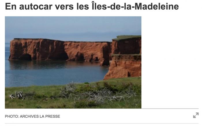 Autocar - La Presse