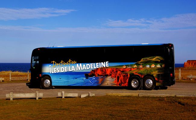 autocar îles de la madeleine