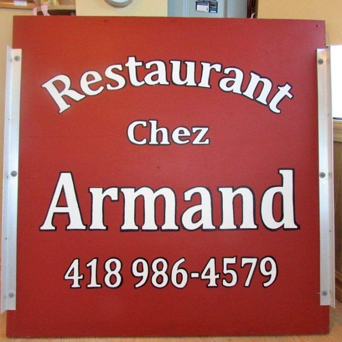 chez Armand logo