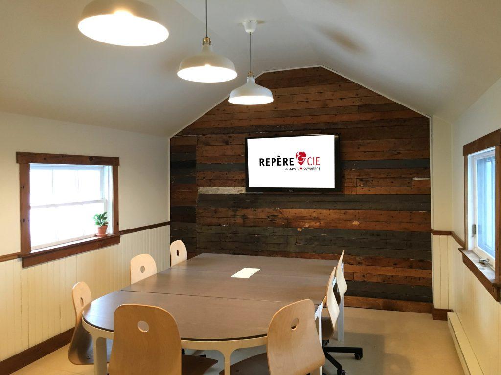 Repère - salle de rencontre - coworking Îles-de-la-Madeleine